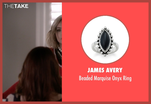 James Avery silver ring from Pretty Little Liars seen with Hanna Marin (Ashley Benson)