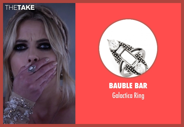 Bauble Bar silver ring from Pretty Little Liars seen with Hanna Marin (Ashley Benson)