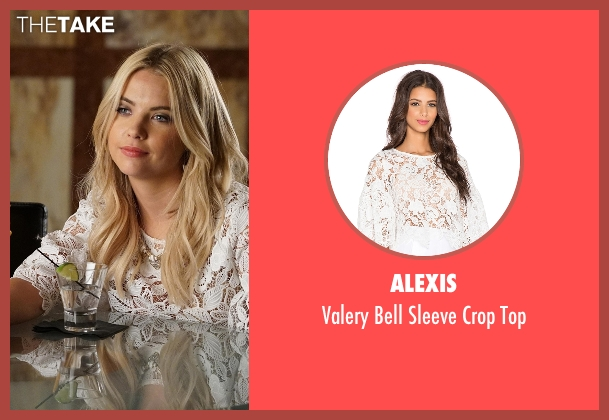 Alexis white top from Pretty Little Liars seen with Hanna Marin (Ashley Benson)