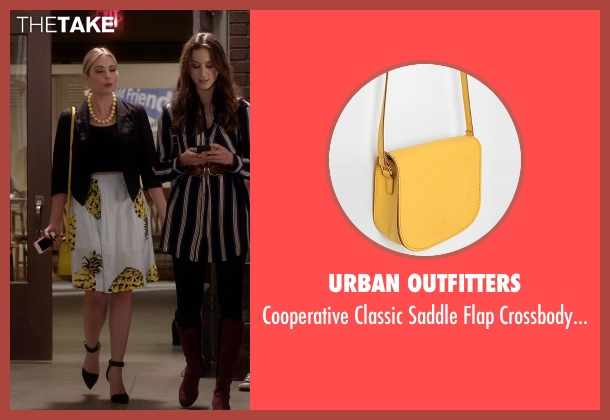 Urban Outfitters yellow bag from Pretty Little Liars seen with Hanna Marin (Ashley Benson)