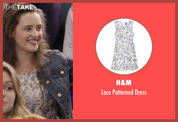 H&M white dress from 13 Reasons Why seen with Hannah Baker (Katherine Langford)