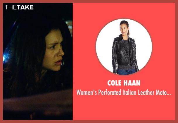 Cole Haan black jacket from Hitman: Agent 47 seen with Hannah Ware (Katia van Dees)