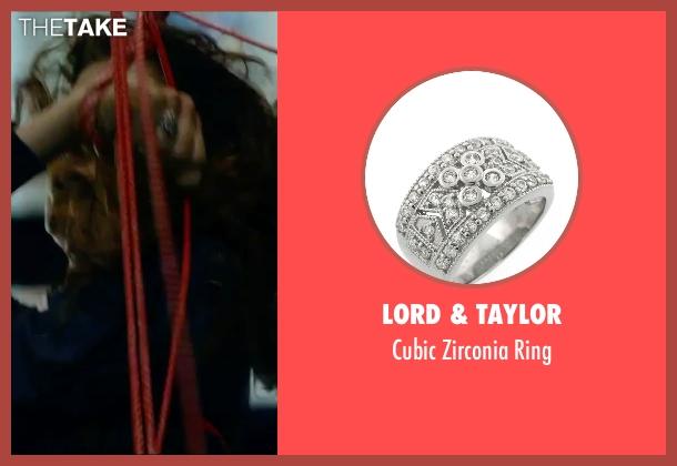 Lord & Taylor silver ring from Hitman: Agent 47 seen with Hannah Ware (Katia van Dees)