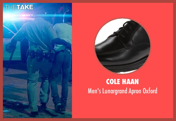 Cole Haan black oxford from Neighbors seen with Hannibal Buress (Officer Watkins)
