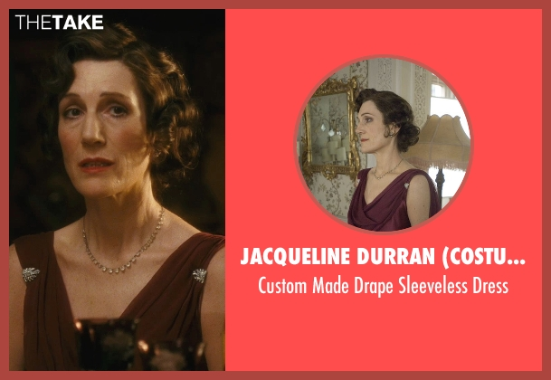 Jacqueline Durran (Costume Designer) brown dress from Atonement seen with Harriet Walter (Emily Tallis)