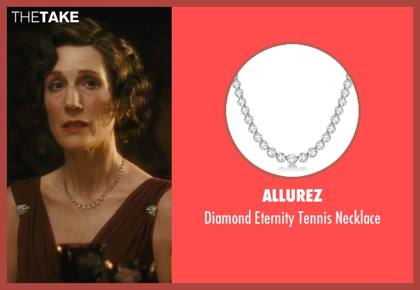 Allurez white necklace from Atonement seen with Harriet Walter (Emily Tallis)