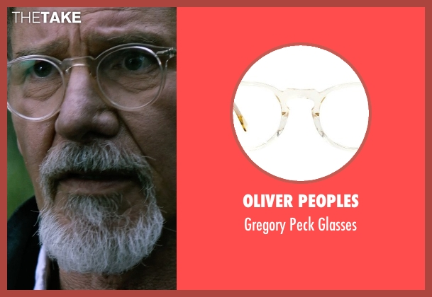 Oliver Peoples glasses from The Age of Adaline seen with Harrison Ford (William)