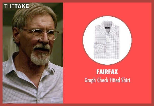 Fairfax white shirt from The Age of Adaline seen with Harrison Ford (William)