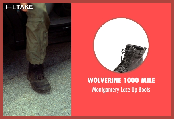 Wolverine 1000 Mile black boots from The Expendables 3 seen with Harrison Ford (Drummer)