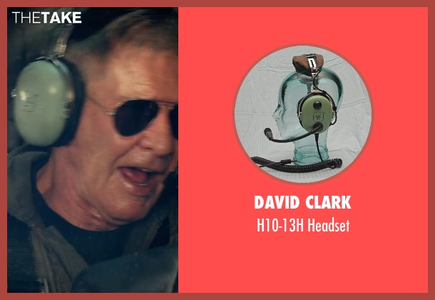 David Clark headset from The Expendables 3 seen with Harrison Ford (Drummer)