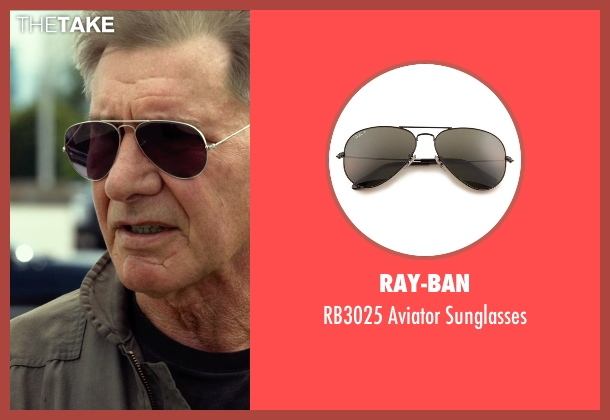Ray-Ban sunglasses from The Expendables 3 seen with Harrison Ford (Drummer)