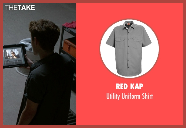 Red Kap gray shirt from Need for Speed seen with Harrison Gilbertson (Little Pete)