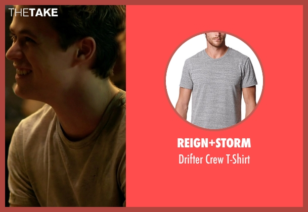 Reign+Storm gray t-shirt from Need for Speed seen with Harrison Gilbertson (Little Pete)