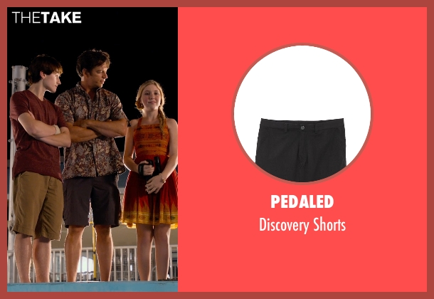 PEdALED black shorts from Dolphin Tale 2 seen with Harry Connick Jr. (Dr. Clay Haskett)