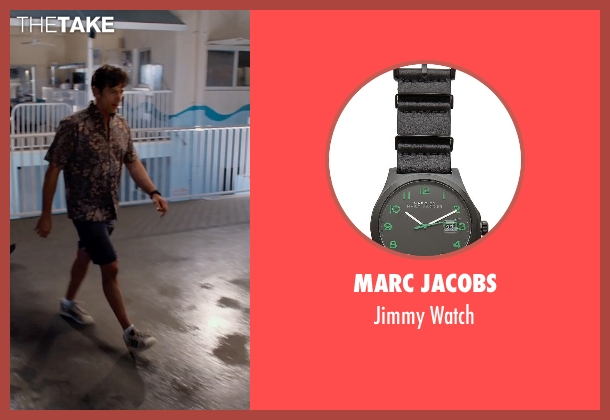 Marc Jacobs black watch from Dolphin Tale 2 seen with Harry Connick Jr. (Dr. Clay Haskett)