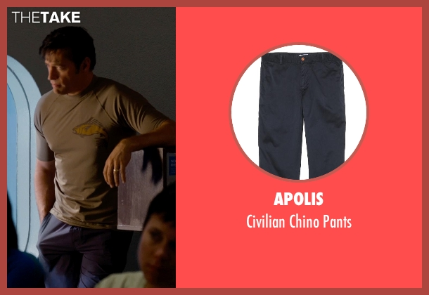 Apolis blue pants from Dolphin Tale 2 seen with Harry Connick Jr. (Dr. Clay Haskett)