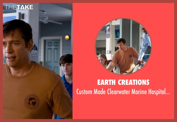 Earth Creations brown shirt from Dolphin Tale 2 seen with Harry Connick Jr. (Dr. Clay Haskett)