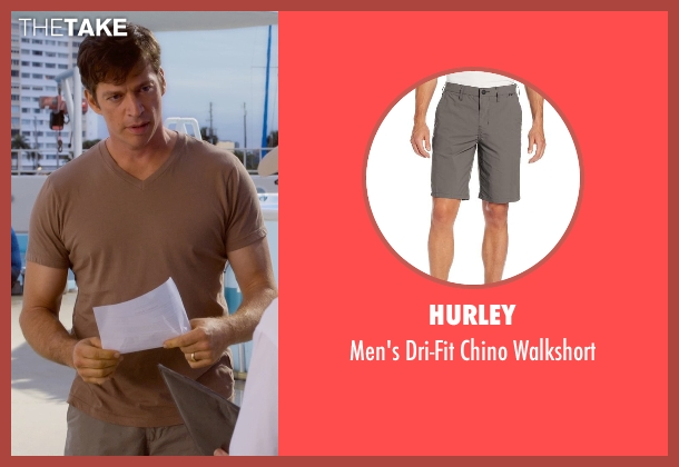 Hurley brown walkshort from Dolphin Tale 2 seen with Harry Connick Jr. (Dr. Clay Haskett)