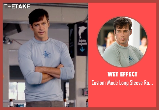 Wet Effect gray rashguard from Dolphin Tale 2 seen with Harry Connick Jr. (Dr. Clay Haskett)