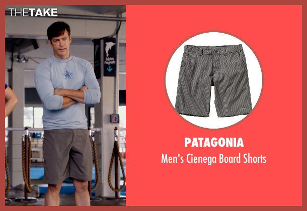 Patagonia gray shorts from Dolphin Tale 2 seen with Harry Connick Jr. (Dr. Clay Haskett)