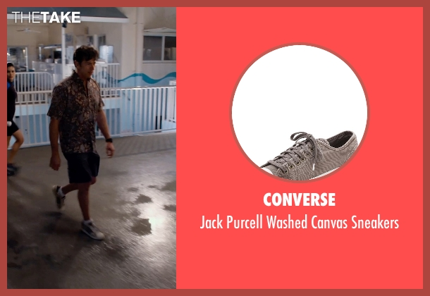 Converse gray sneakers from Dolphin Tale 2 seen with Harry Connick Jr. (Dr. Clay Haskett)