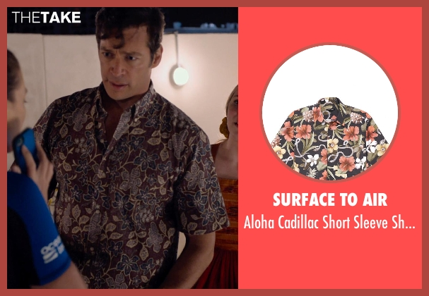Surface to Air shirt from Dolphin Tale 2 seen with Harry Connick Jr. (Dr. Clay Haskett)