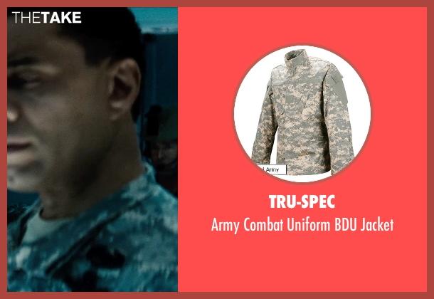 Tru-Spec jacket from Man of Steel seen with Harry Lennix (General Swanwick)