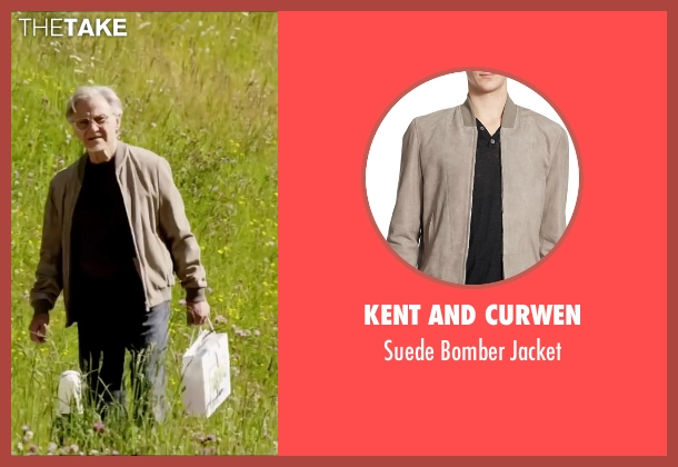 Kent And Curwen beige jacket from Youth seen with Harvey Keitel (Mick Boyle)