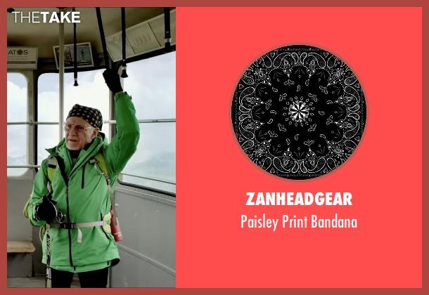 Zanheadgear black bandana from Youth seen with Harvey Keitel (Mick Boyle)