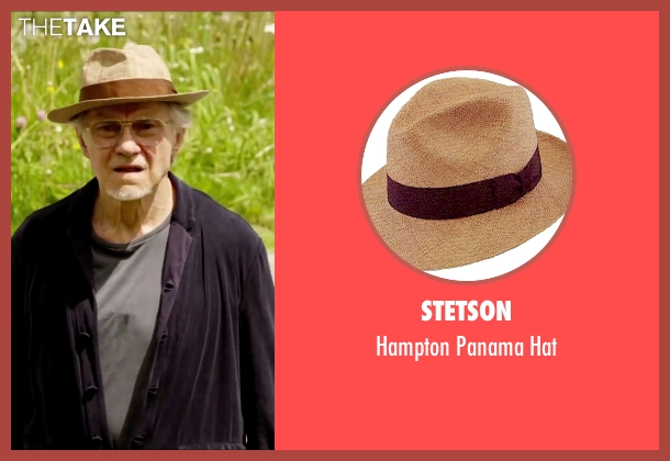 Stetson brown hat from Youth seen with Harvey Keitel (Mick Boyle)