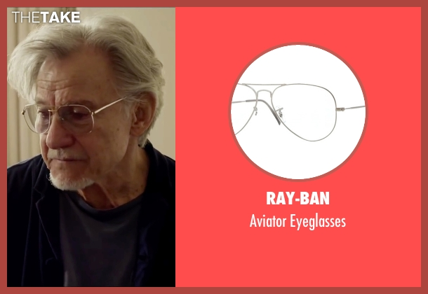 Ray-Ban eyeglasses from Youth seen with Harvey Keitel (Mick Boyle)