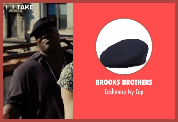 Brooks Brothers black cap from Begin Again seen with Harvey Morris (Troublegum Posse 2 - Phat Jimmy)