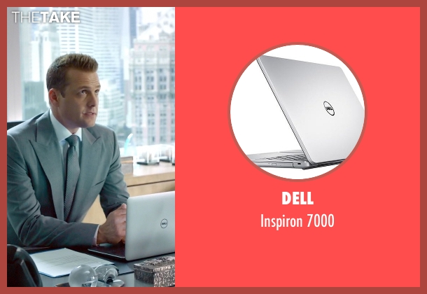 Dell 7000 from Suits seen with Harvey Specter (Gabriel Macht)