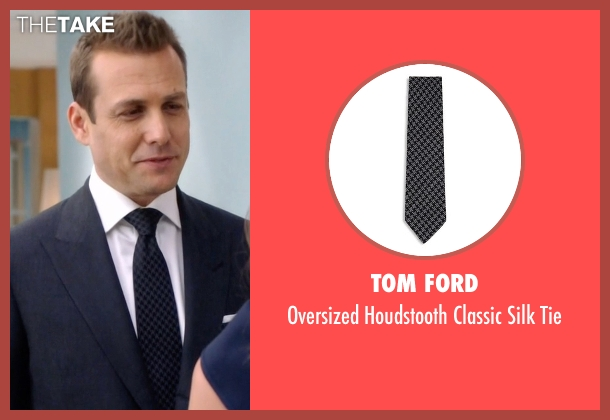 Tom Ford black tie from Suits seen with Harvey Specter (Gabriel Macht)