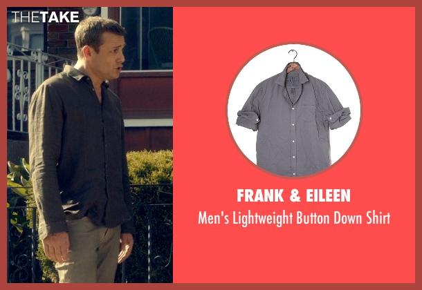 Frank & Eileen gray shirt from Suits seen with Harvey Specter (Gabriel Macht)