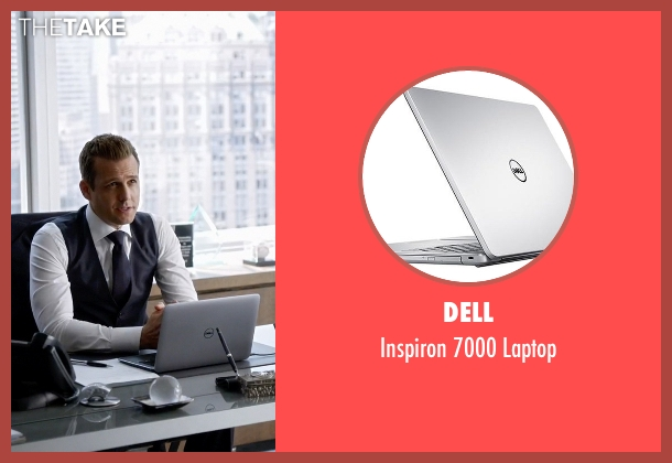 Dell laptop from Suits seen with Harvey Specter (Gabriel Macht)