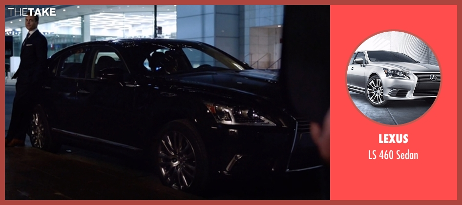 Lexus sedan from Suits seen with Harvey Specter (Gabriel Macht)