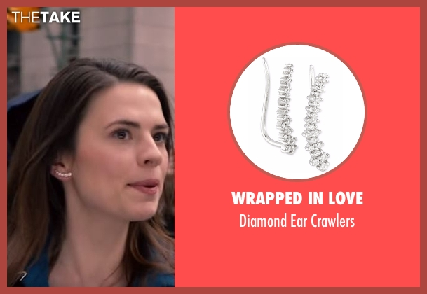 Wrapped In Love silver crawlers from Conviction seen with Hayes Morrison (Hayley Atwell)