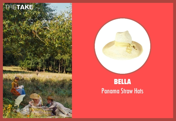 Bella beige hats from Cinderella seen with Hayley Atwell (Cinderella's Mother)