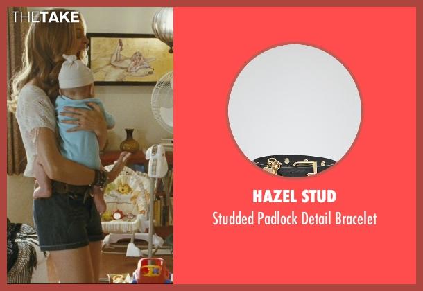 Hazel Stud black bracelet from The Hangover seen with Heather Graham (Jade)