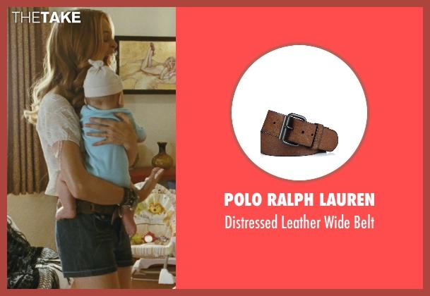 Polo Ralph Lauren brown belt from The Hangover seen with Heather Graham (Jade)