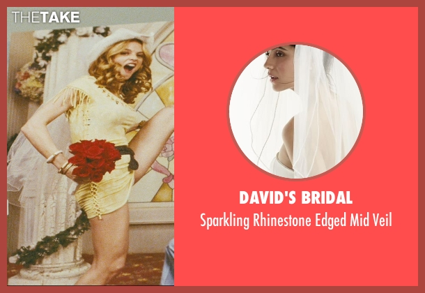David's Bridal white veil from The Hangover seen with Heather Graham (Jade)