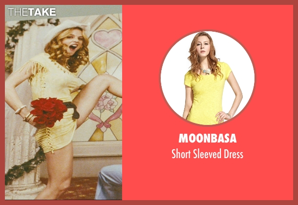 Moonbasa yellow dress from The Hangover seen with Heather Graham (Jade)