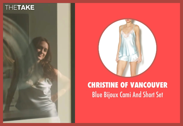 Christine Of Vancouver set from Demolition seen with Heather Lind (Julia)