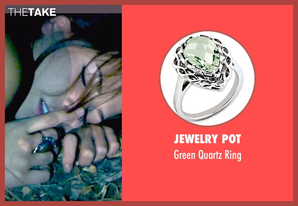 Jewelry Pot green ring from Unfriended seen with Heather Sossaman (Laura)