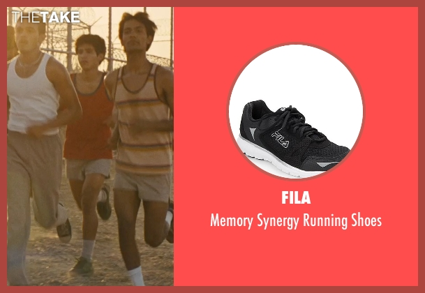 Fila black shoes from McFarland, USA seen with Hector Duran (Johnny Sameniego)