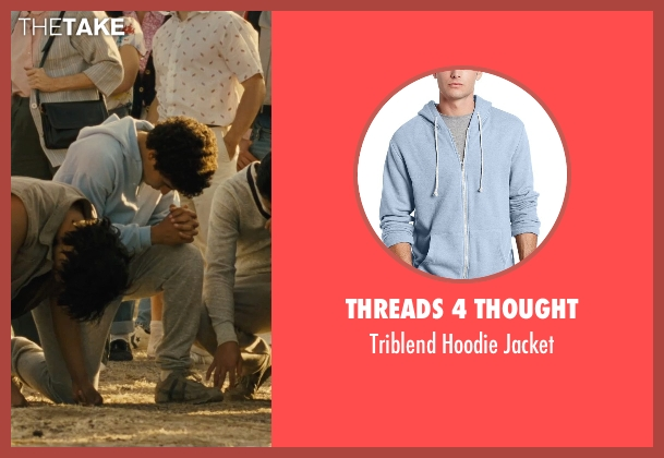 Threads 4 Thought blue jacket from McFarland, USA seen with Hector Duran (Johnny Sameniego)