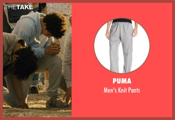 Puma gray pants from McFarland, USA seen with Hector Duran (Johnny Sameniego)