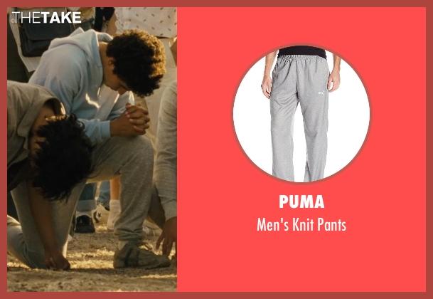 Puma gray pants from McFarland, USA seen with Hector Duran (Johnny Sameniego)