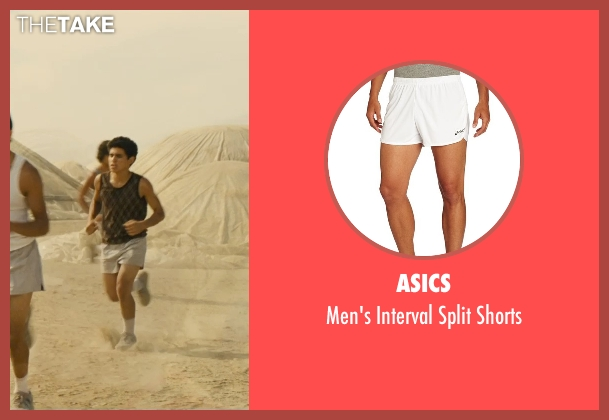 Asics white shorts from McFarland, USA seen with Hector Duran (Johnny Sameniego)